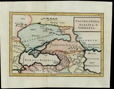 Colchis Iberia Albania & Sarmatia 18th century 1770's hand color map
