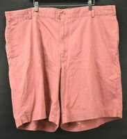 Bills Khakis Mens Size 46 Made in USA Casual Khaki Flat Front Golf Pants Red