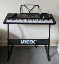 Keyboard 61 key Musical Electronic Digital Adults Beginner With Stand