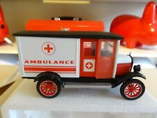 1924 CHEVROLET AMBULANCE 1/32 SCALE DIECAST ~ ORIGINAL BOX & COA ~ NEW-RAY #6
