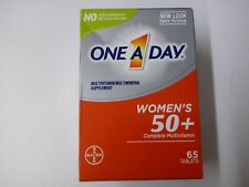 One a Day Women's 50+ Complete Multivitamin 65 Tablets 10/2021 New in Box