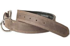 Woodland® Hundehalsband aus Leder für Hunde mit 50-65 cm Halsumfang in Braun