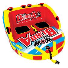 WOW Big Bubba HI VIZ 1 - 2 Riders Towable Ski Tube Inflatable Biscuit Boat Ride