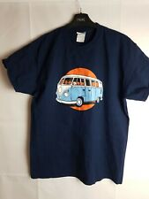 Navy Blue T-shirt Size M With VW Van Print
