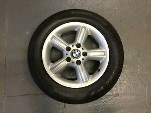 """Genuine BMW Z3 Roadster Coupe 16"""" 5 Spoke Type 55 Alloy Wheel & Tyre 1096138"""
