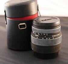 Nice Sigma DC 18-50mm f/3.5-5.6 AF Lens  Canon Digital SLR Camera EFS-Mount Zoom
