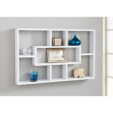 Elegante e attraente SALVASPAZIO multi-compartment MENSOLA MURO-BIANCO