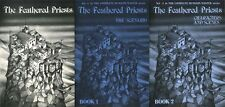 THE FEATHERED PRIESTS EXC! BOOK 1 2 Screen COMPLETE DUNGEON MASTER SERIES Guide