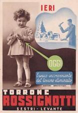 A4042) SESTRI LEVANTE (GENOVA), TORRONE ROSSIGNOTTI. VIAGGIATA NEL 1935.