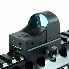 Tactical Mini Compact Holographic Reflex Micro Red Dot Sight Scope Rifle Top