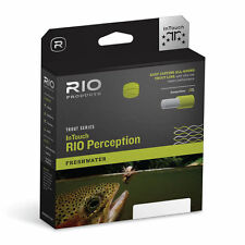 RIO IN TOUCH PERCEPTION WF-5-F #5 WEIGHT FWD FLOATING FLY LINE GREEN/ CAMO/ TAN