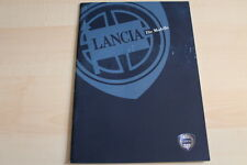 87308) Lancia Ypsilon Lybra Zeta Prospekt 10/2000