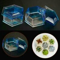 Silicone Jewellery Storage Box Mold Resin Casting Mould Craft DIY Q6C4