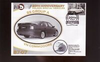 HOLDEN HSV 20th ANNIV COVER, VN COMMODORE SS GROUP A