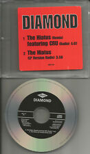 d.i.t.c. DIAMOND w/ CRU The Hiatus REMIX & RADIO TRK PROMO DJ CD Single ditc