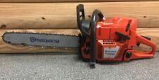 Used Husqvarna 372Xp X-Torq Chainsaw 20'' Bar & Chain