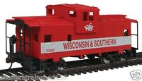 WalthersTrainline # 1532 Wide-Vision Caboose Wisconsin & Southern #XC8600 HO MIB