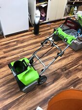 GreenWorks PRO 20 inch 120V  Snow Thrower Free Shipping Benefits Charity