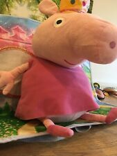 Large Cuddly Pretty Pink Princess Fairy Peppa Pig Plush