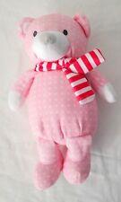 Manhattan Toy Holiday Pattern Plush Bear - Pink SugarPlum