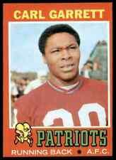 1971 TOPPS FOOTBALL CARL GARRETT RC #34 NM-MT SET BREAK FTR2F1