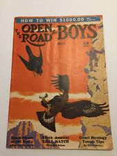 The Open Road for Boys,July 1938, Soap Box Derby Baby Ruth Ad Winchester