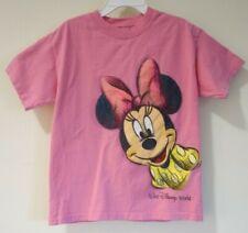 Disneyland / Walt Disney World by Hanes Pink Minnie Mouse Top Size XS / 4-5