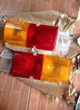 DATSUN 510 BLUEBIRD Taillight Rear Lamps LENS EURO Spec Set Genuine Nos LH+RH 68