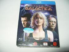 Battlestar Galactica Season Three Blu Ray Disc set 2007 Region B New & Sealed