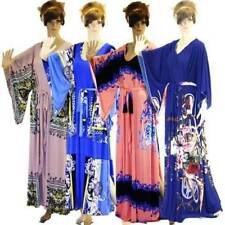 Machine Washable Floral Dresses for Women with Kimono Sleeve