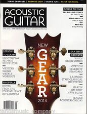 ACOUSTIC GUITAR MAGAZINE JUNE 2014, VOL 24, NO. 12 ISSUE 258, NEW GEAR