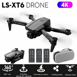 Faltbar WIFI FPV Drohne mit 4K HD Kamera Mini Selfie Quadrocopter RC Drone DHL