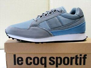 Le Coq Sportif Eclat scarpe uomo Mesh+pelle Titanium sneakers running Eu-46 €100