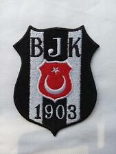 Aufnäher Patch Fußball Football club Türkei Besiktas Logo Iron on Bügelbild