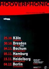 HOOVERPHONIC - 2002 - Tourplakat - Jackie Cane - Tourposter