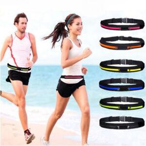 Fashion Women Men outdoor Running Belt Waist Bag Marathon Pouch for Smartphone