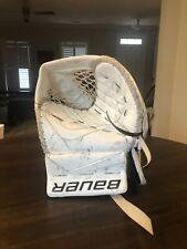 Bauer Reactor 9000 Senior Goalie Glove and Blocker - Used