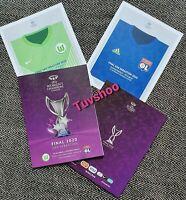 Women's Champions League Final 2020 Programme WOLFSBURG v LYON! PRE-ORDER