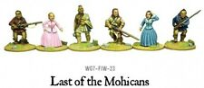 """WARLORD GAMES French Indian War """"le dernier des Mohicans"""""""