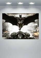 Batman The Dark Knight Arkham Large Poster Art Print A0 A1 A2 A3 A4 Maxi