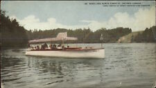 Toronto? Bond Lake North Yonge St. Boating c1910 Postcard 3.5x6.25 inches