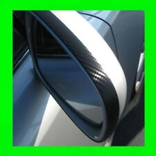MERCEDES CARBON FIBER SIDE MIRROR TRIM MOLDING 2PC W/5YR WARRANTY  3