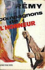 Livre histoire compagnons de l'honneur Rémy