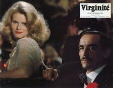 Vittorio Gassman madeleine hinde virginite 1976 vintage lobby card #8