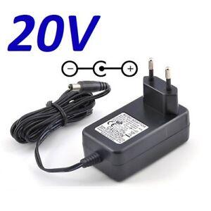 Cargador Corriente 20V Reemplazo Altavoces Bose Companion 20 Recambio Replace