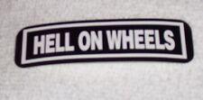 Hell On Wheels Motorcycle Helmet Sticker Biker Helmet Decal
