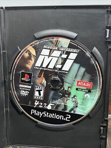 Mission Impossible Operation Surma (PlayStation 2 PS2) - DISC ONLY