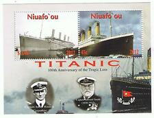 Niuafo'ou Titanic Small Souvenir Sheet Stamp Issue