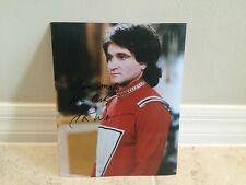"""Robin Williams Signed 8x10 Mork & Mindy Photo AUTO Autograph """"I Am Mork From Ork"""