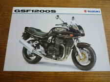 SUZUKI GSF 1200S MOTORBIKE BROCHURE, 1998/99  - POST FREE (UK)